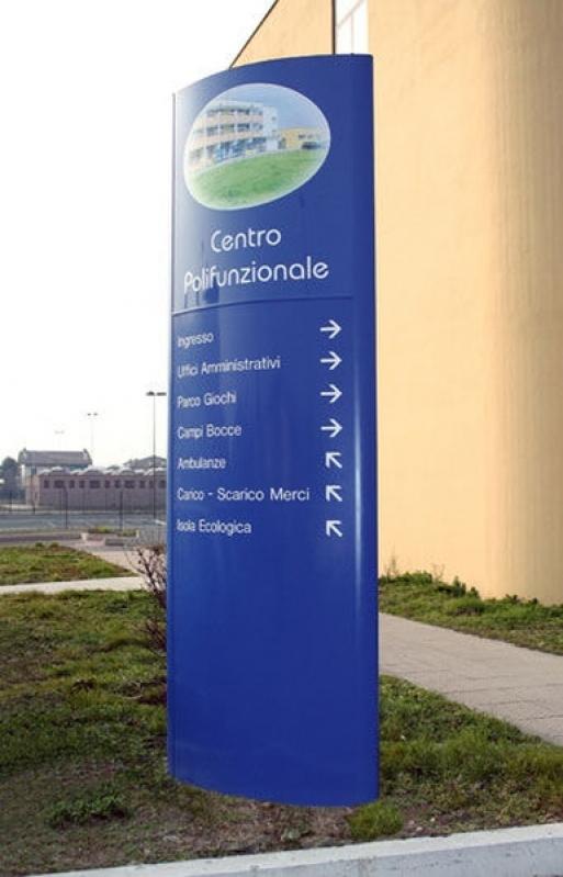 Onde Acho Totem para Sinalização Jardim Bonfiglioli - Totem para Sinalização