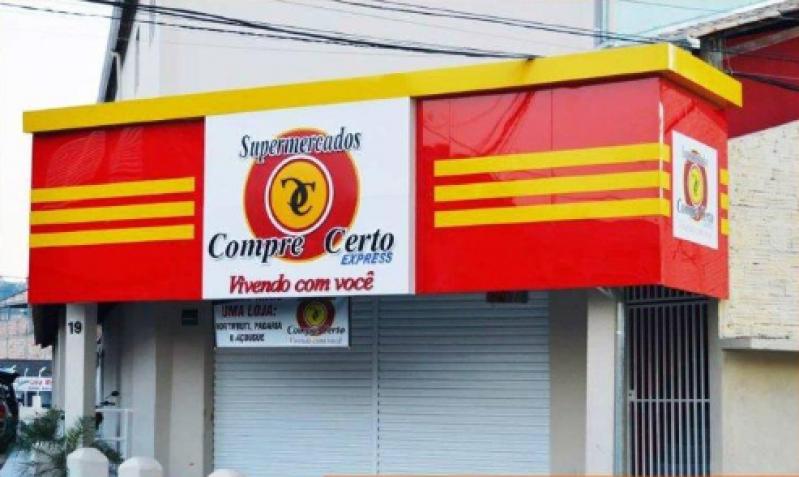 Onde Encontro Fachada de Loja Parque São Rafael - Fachada Comercial Moderna