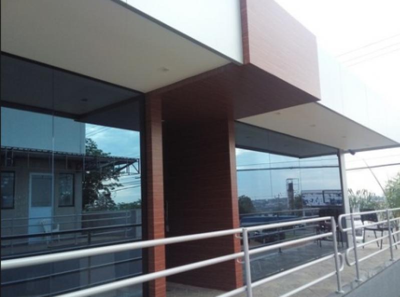 Onde Encontro Revestimento Acm Cinza Jabaquara - Revestimento em Chapa de Acm
