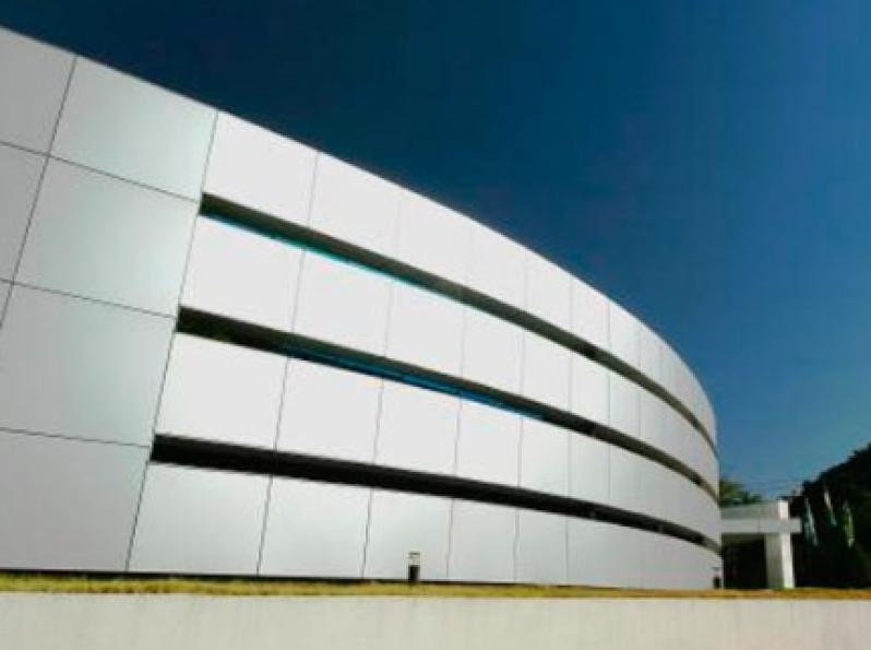Quanto Custa Revestimento Acm Branco Cidade Tiradentes - Revestimento Acm Fachada