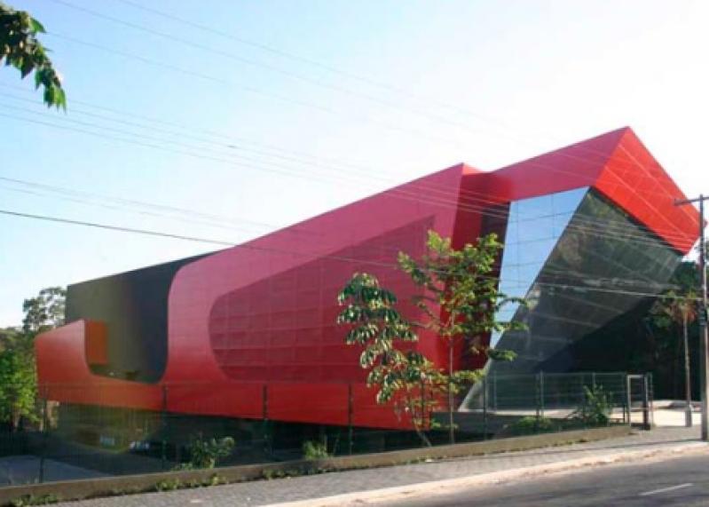Revestimento de Acm Preço Raposo Tavares - Revestimento em Chapa de Acm