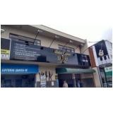 fachada de loja acm