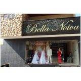 fachada para loja de roupas preço Sé