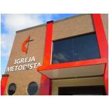 instalação de fachada comercial acm Itaquera
