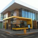 instalação de fachada de acm Aeroporto