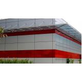 revestimento fachada acm valor Jabaquara